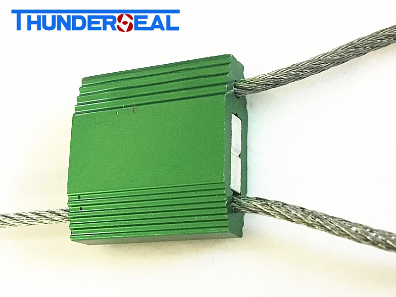 El sello del cable de seguridad de 2.5mm compliat con ISO17712